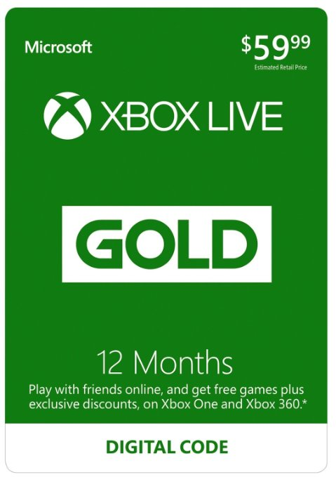12 month Xbox live membershipfor the gamer dad  | $40