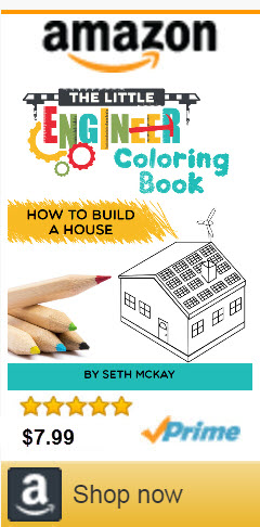The Little Engineer Coloring Book: How to Build a House | Best Mom Ideas