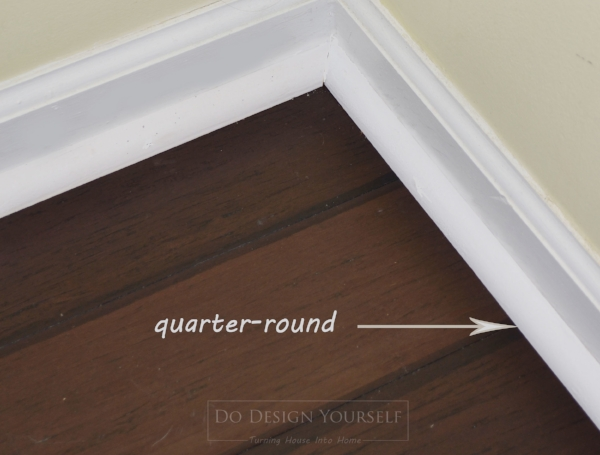 Floating Bamboo Flooring is best installed with quarter-rounds