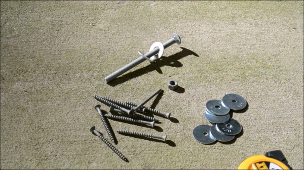 screws, bolts, and washers