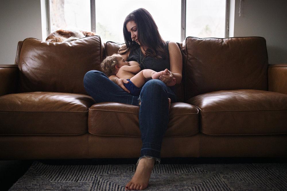 Morning feed and cuddle sesh.Photo credit: Lindsey Rivera Photography