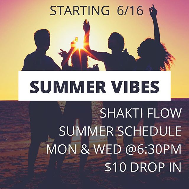 Summer is here and we're feeling fabulous. Come shake it with us Monday and Weds @ 6:30pm  #shaktiflow® #shaktiflowers #wildwomen #morrobay #shakeyourchitout #loveyourbody #shakeyobooty