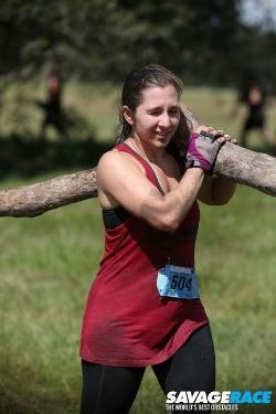 Mandy log carry.jpg