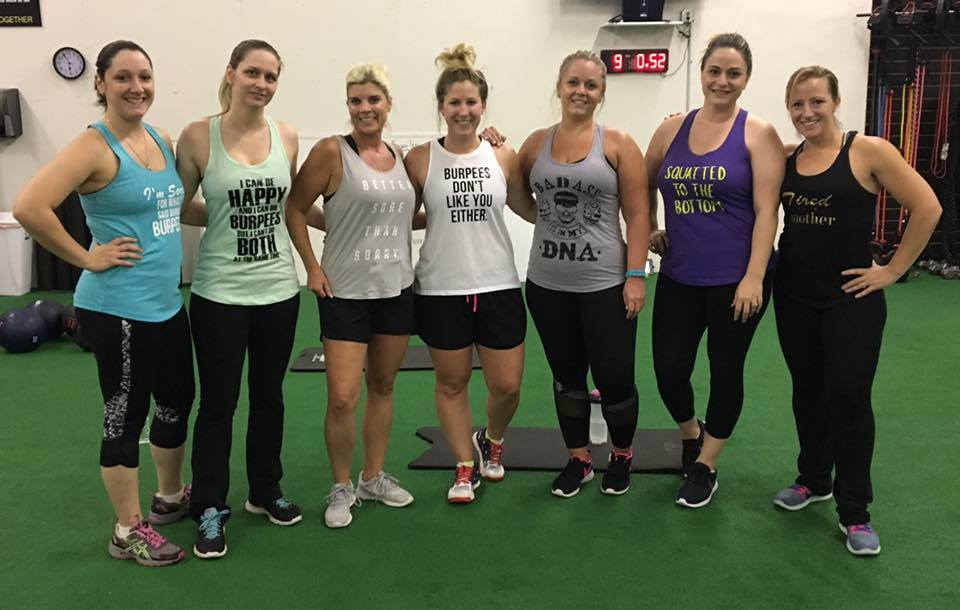 Parisi Ladies in funny tanks.jpg