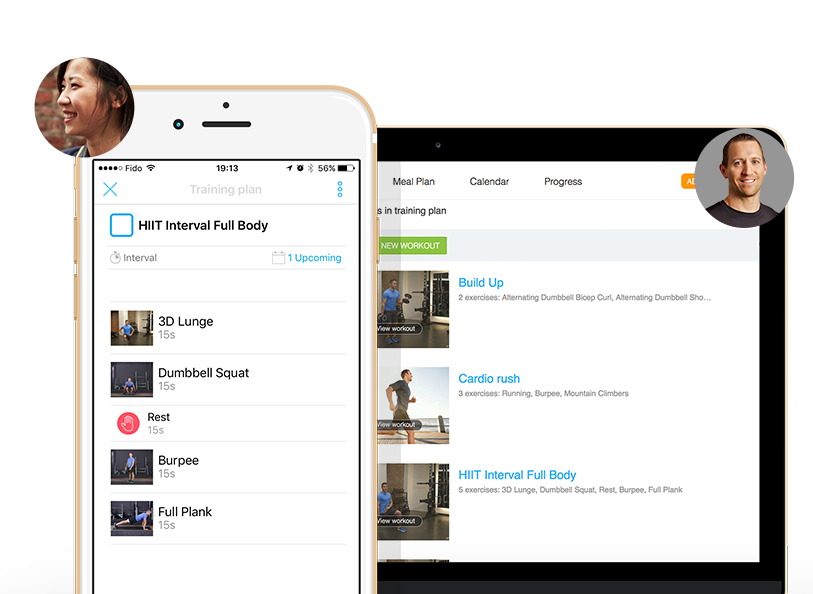 With our Alloy Personal Training app, you will have access to our training staff to help you succeed!