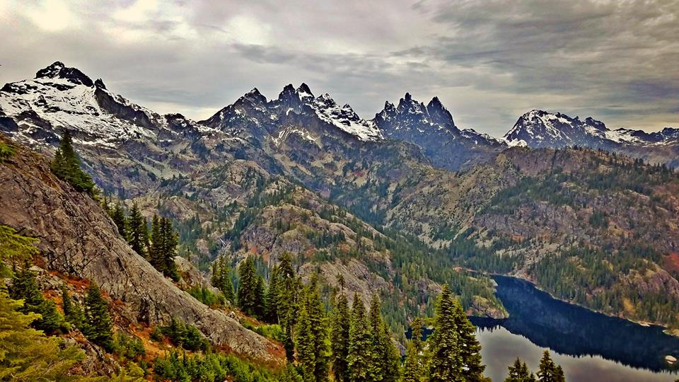 The Alpine Lakes Wilderness in all its glory