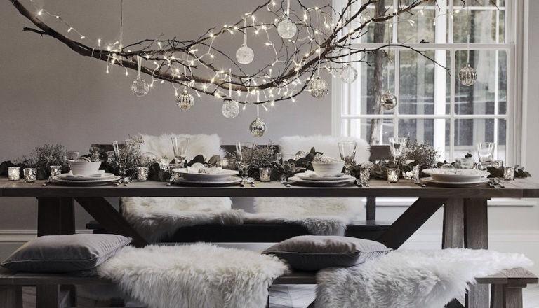 fascinating Winter Wonderland Table Decor Part - 10: Image credit - Neptune