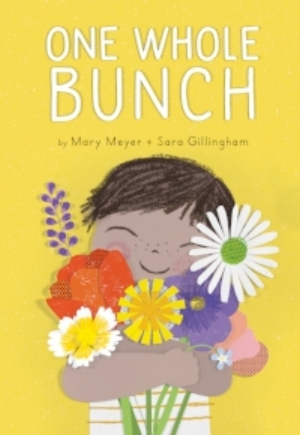 A sweet and simple story about a little boy gathering flowers --from 10 lavender to one sunflower--to give his mother.