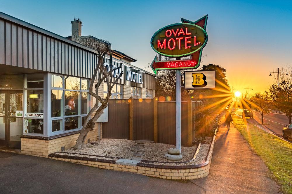 Oval Motel, Bendigo Australia. Photo by Chris Jack.