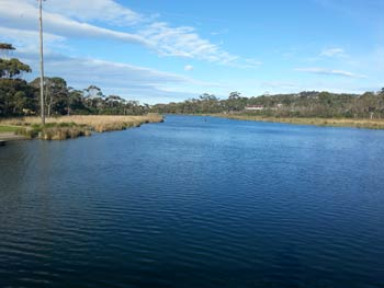 Anglesea River and lakes system