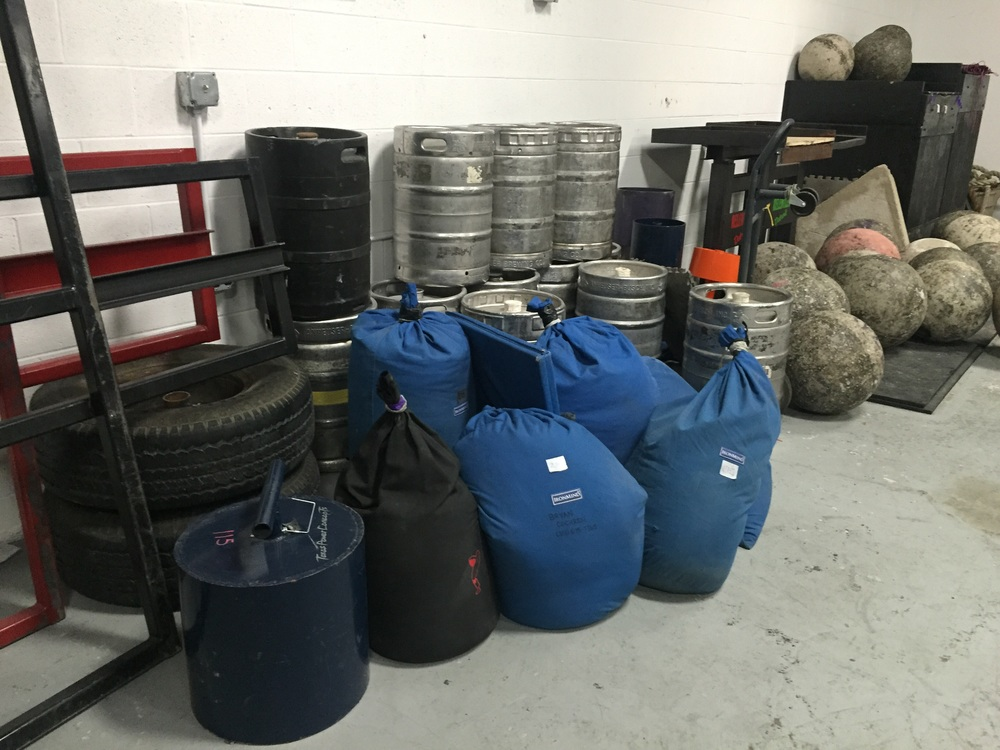 Sandbags and Duckwalk (loadable)