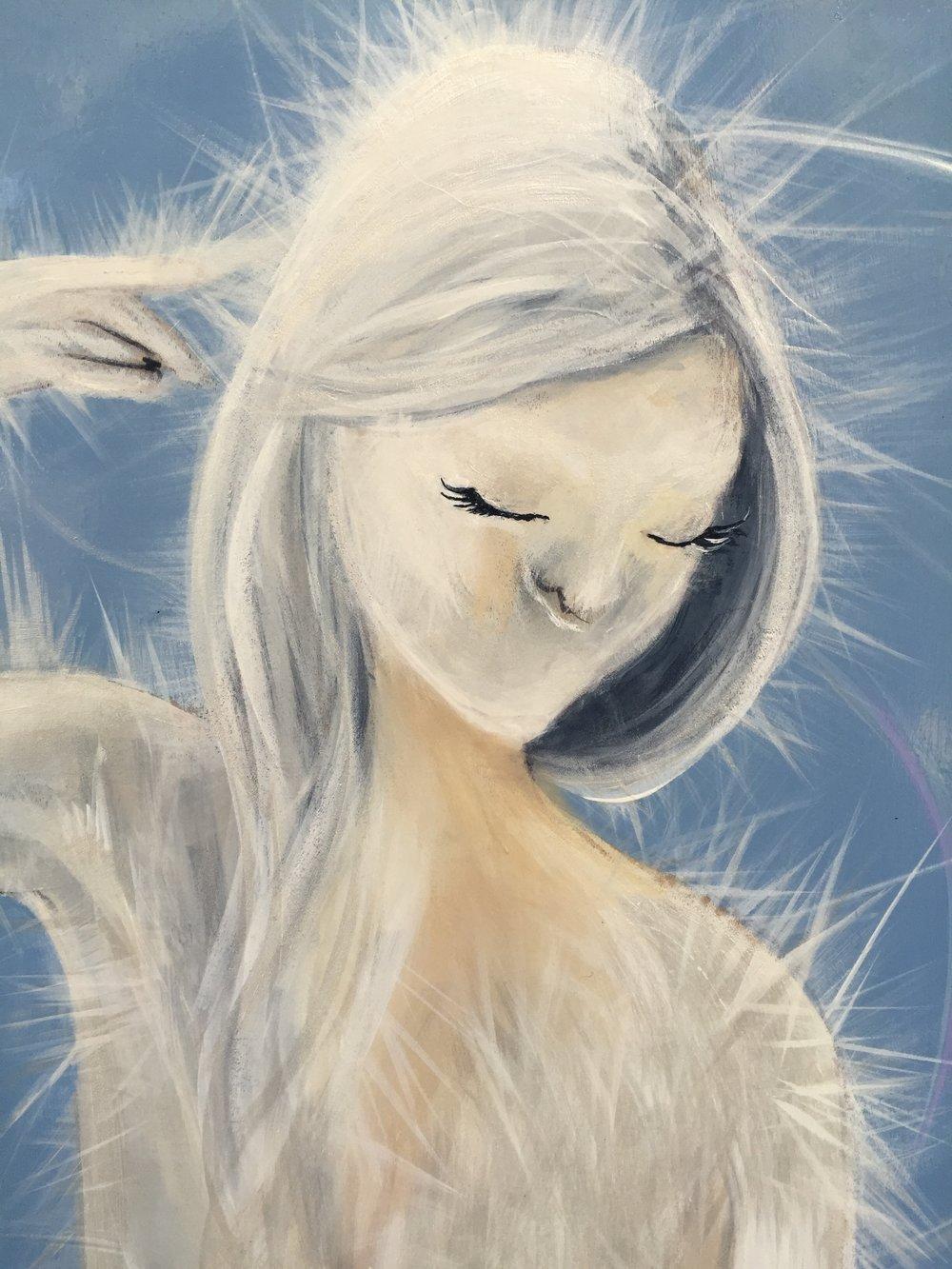 FIGURE 1 Close up of Aeon  Original artwork by Author