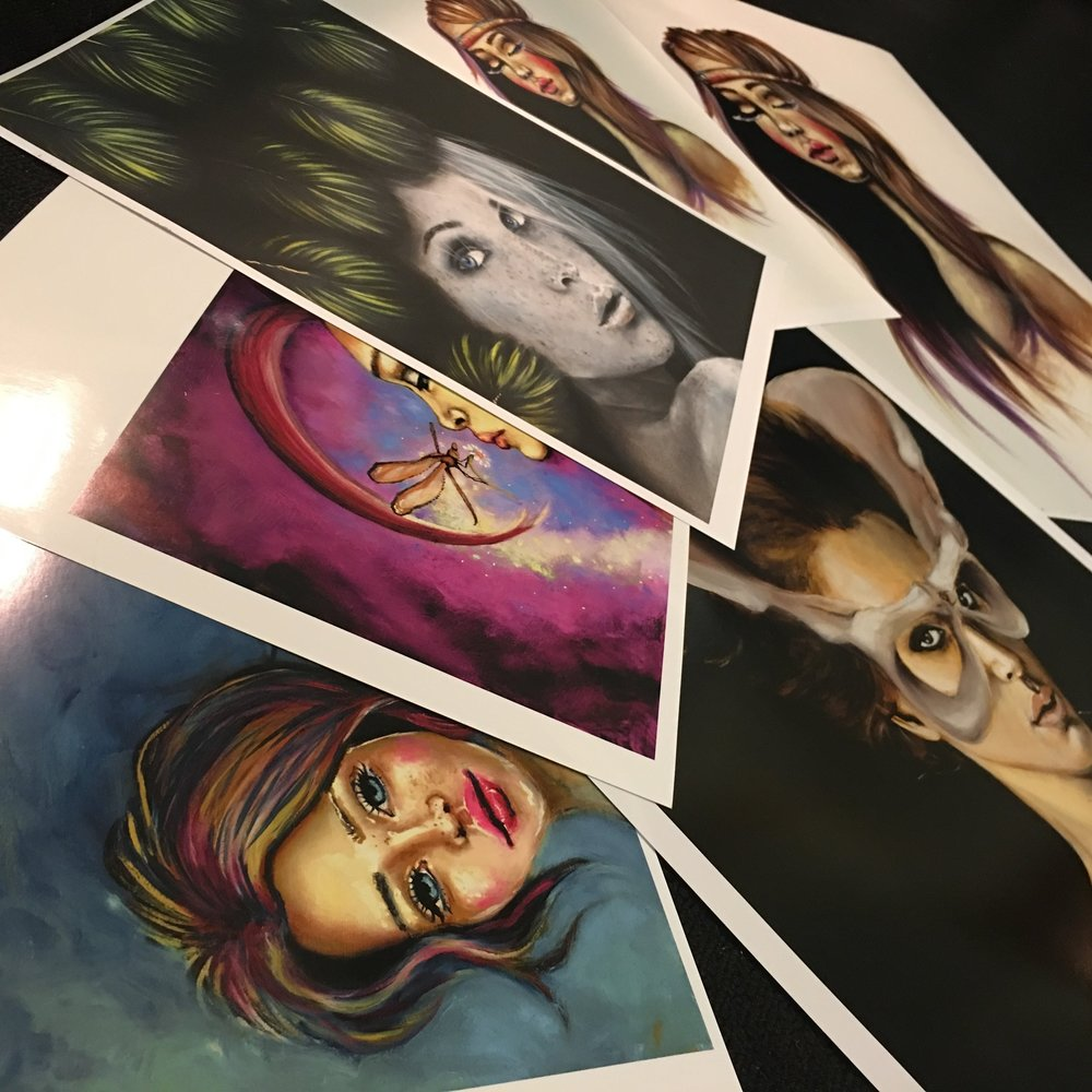 SIGNED PRINTS - FROM $30