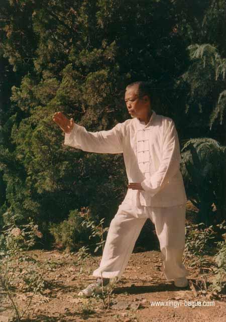 耿氏形意拳第三代传人 耿德福(1926-1995)  Geng Style Xingyiquan third-generation descendant, Grand Master Geng De Fu (1926-1995).