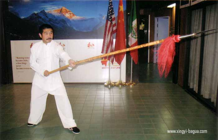 耿氏形意拳第四代传人 胡耀武  Geng Style Xingyiquan fourth-generation descendant, Hu Yao Wu.