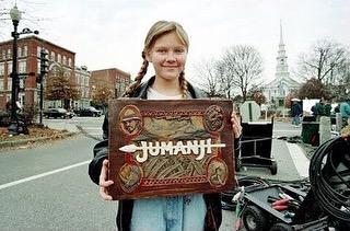Current watch: Jumanji (1995) #nostalgia