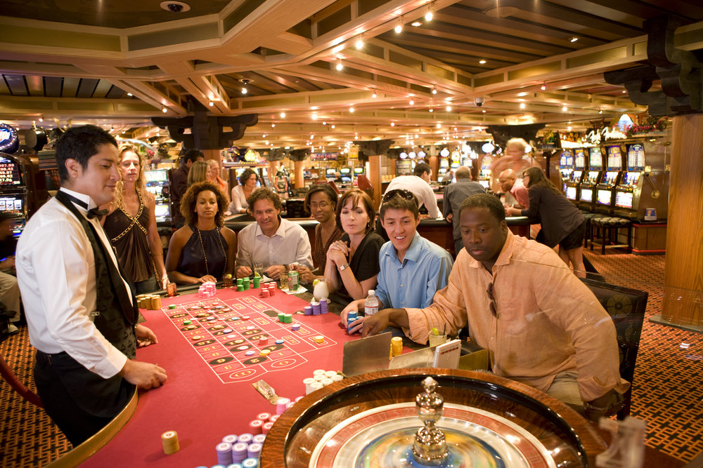 Carnival Cruise Shoot-Roulette
