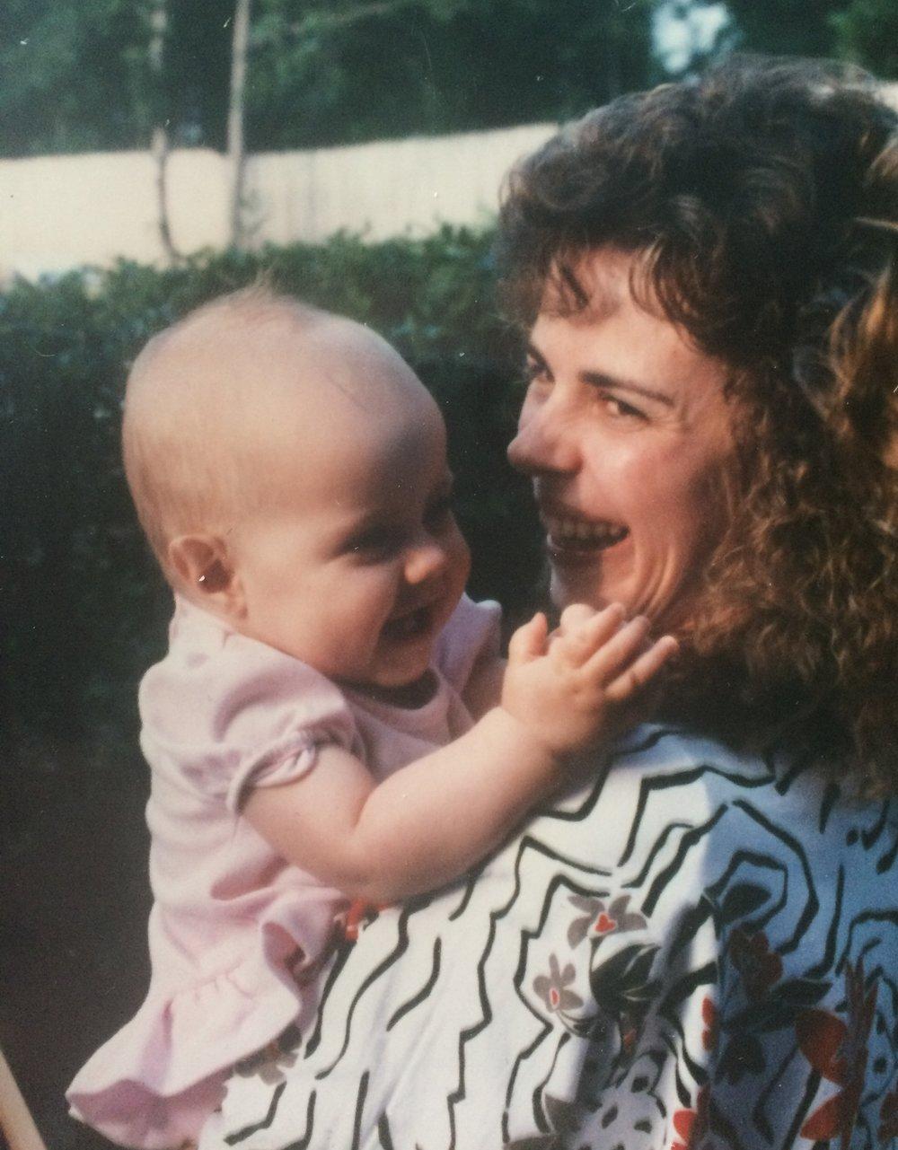 My Mama and I, 27 years ago