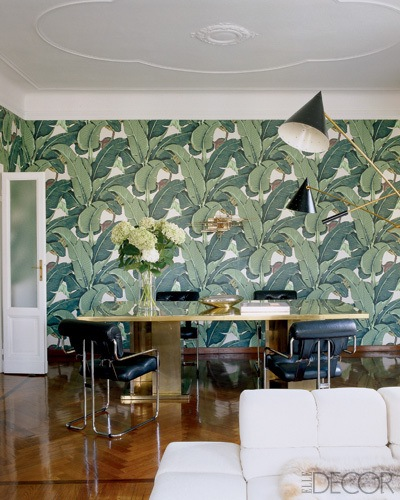 Nate Berkus and Brian Atwood have this print in their home in Milan.