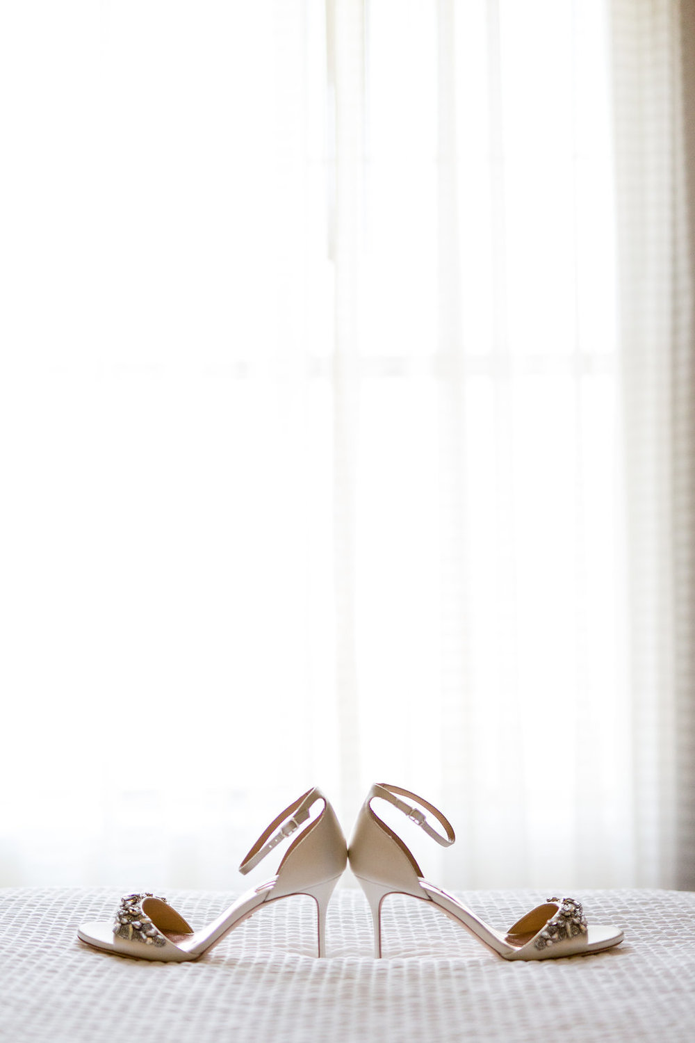 Spanish Hills Country Club Bridal Shoes