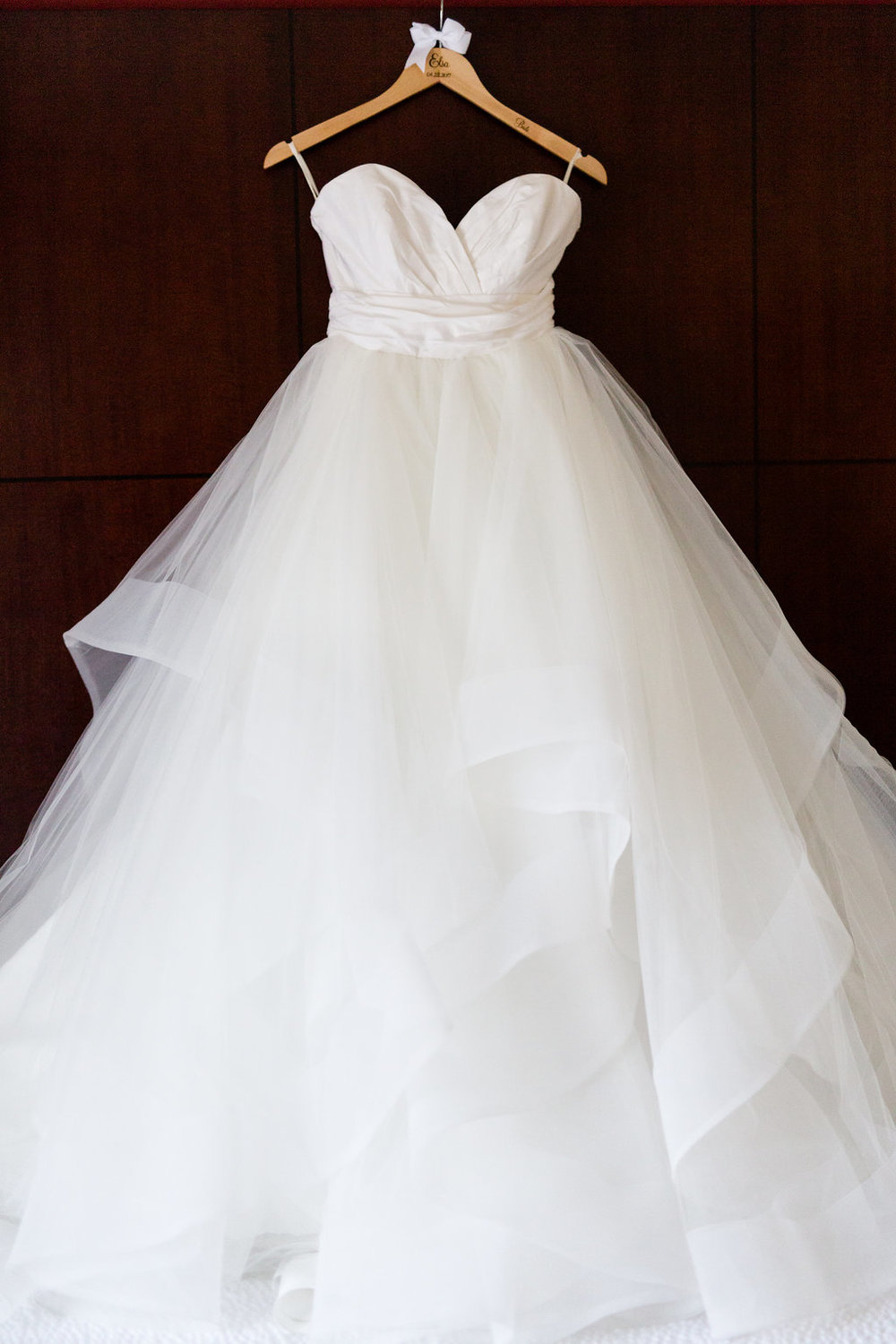 Spanish Hills Country Club Bridal Gown