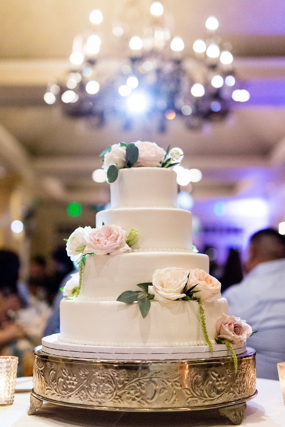 Spanish Hills Country Club Wedding Cake
