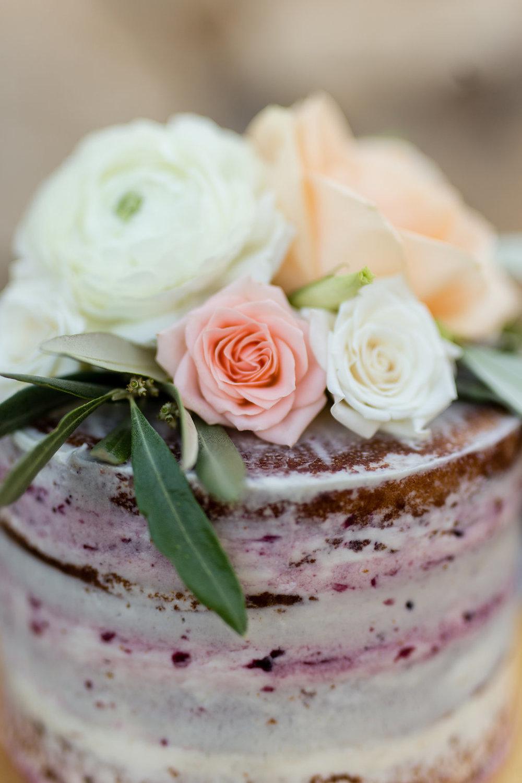 Terra Mia Vineyard Wedding Cake