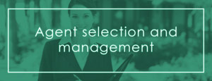 Agent selection & management