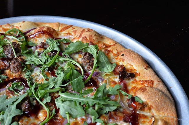 September Special: THE BLACK & BLUE: bacon, ground beef, red onion, arugula, black pepper, blackberry preserves & blue cheese. Created by Evan Kutz from @thestaronpark. Don't wanna miss this one!