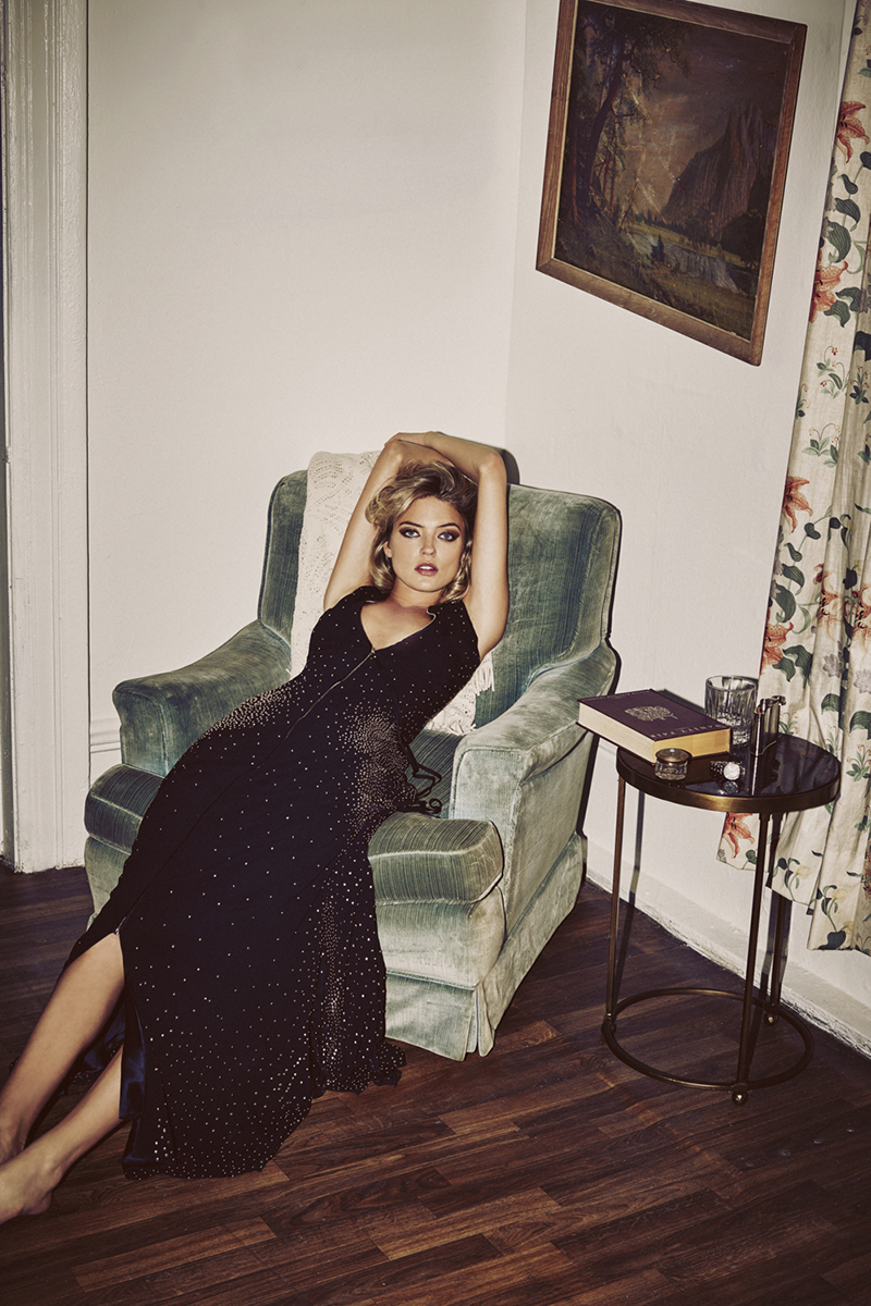 Martha Hunt  by  Guy Ar och for  So It Goes Magazine  ~Fall / Winter 2015