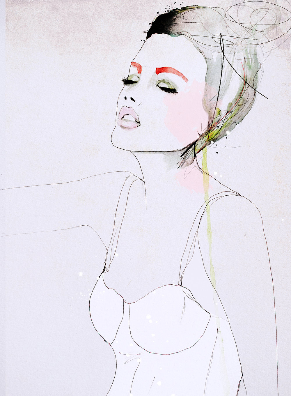 © Leigh Viner 2018 Mixed Media on Paper / Available  here.