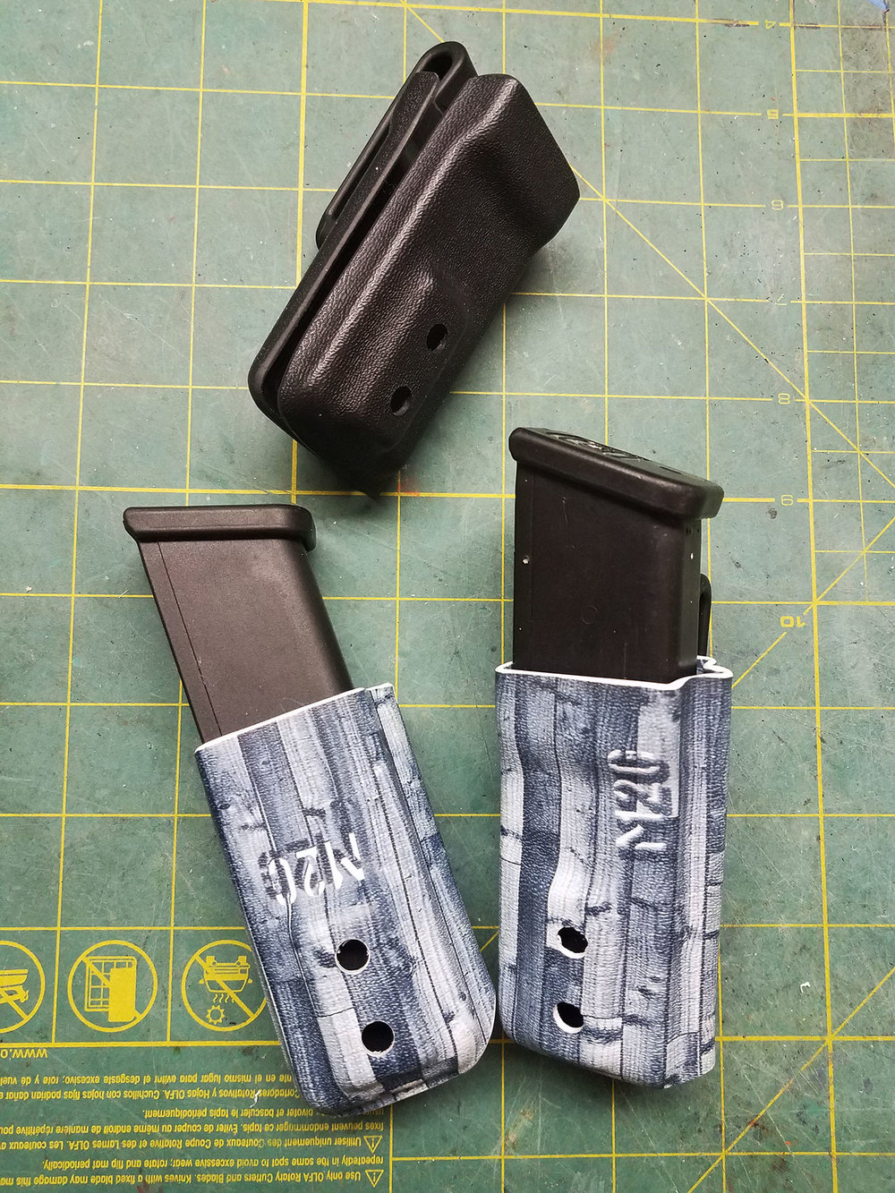 Glock LoPro Magazine Pouch IWB — Made 2 Carry holsters
