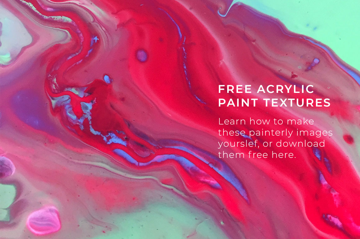 Free Acrylic Paint Textures Design Assets