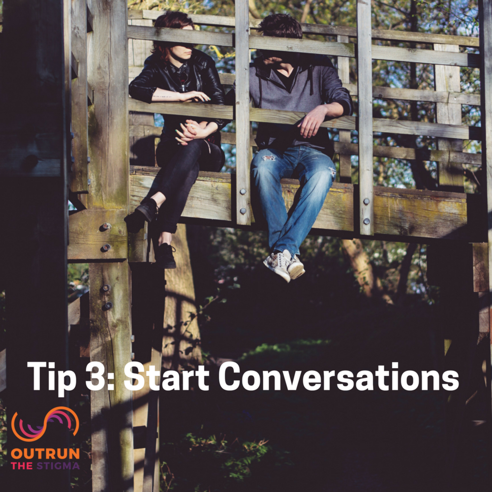 Tip 3: Start Conversations