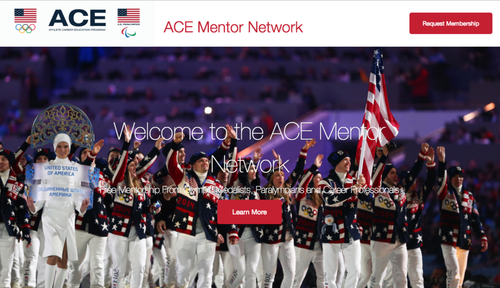 The United States Olympic Committee - InstaViser partnered with the United States Olympic Committee ACE (Athlete Career and Education) Program to create the ACE Mentor Network. Since 2015, The ACE Mentor Network has been helping U.S. Olympians, Paralympians, and National Team members in their preparation for competition and life after sport.
