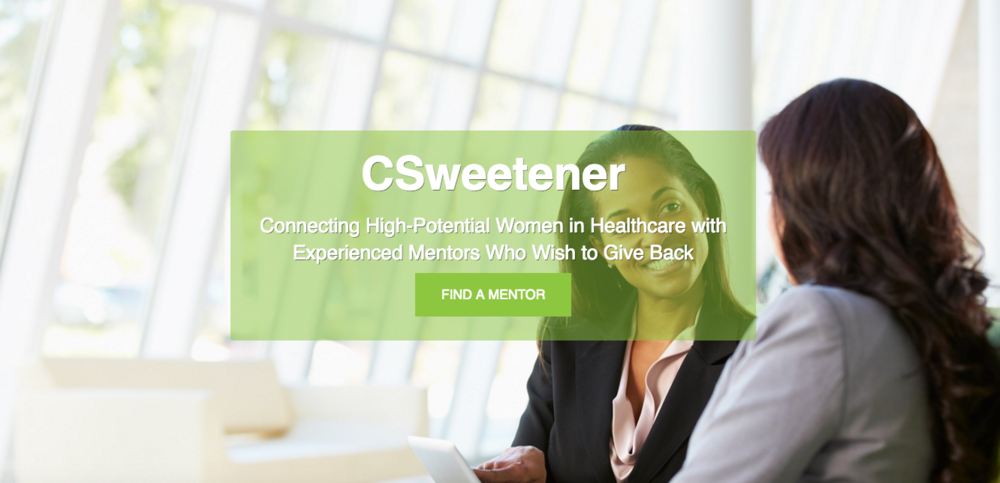 CSweetener - C-Sweetener is a new non-profit organization dedicated to matching emerging female healthcare leaders new and near to the C-Suite, with those who have successfully navigated this terrain and are eager to share their knowledge and experience. InstaViser has partnered with C-Sweetener to create the ultimate mentorship experience.