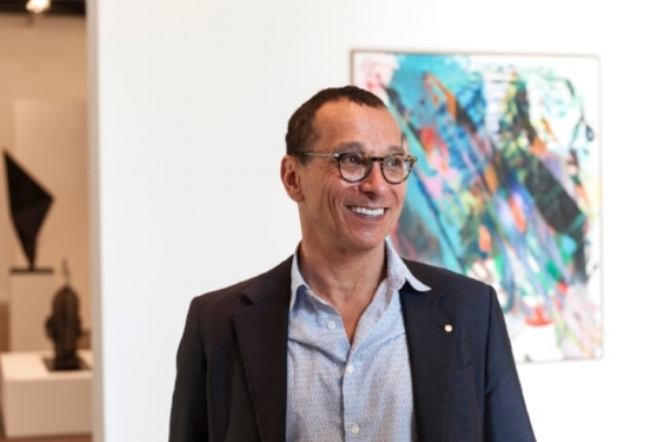 Danny Goldberg OAM,  EuroVisions: Contemporary Art from the Goldberg Collection,  National Art School Gallery, 2015, Courtesy NAS Gallery, photo Steven Cavanagh
