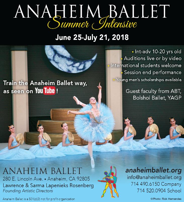 ABS Summer Intensive Programs Audition — Anaheim Ballet