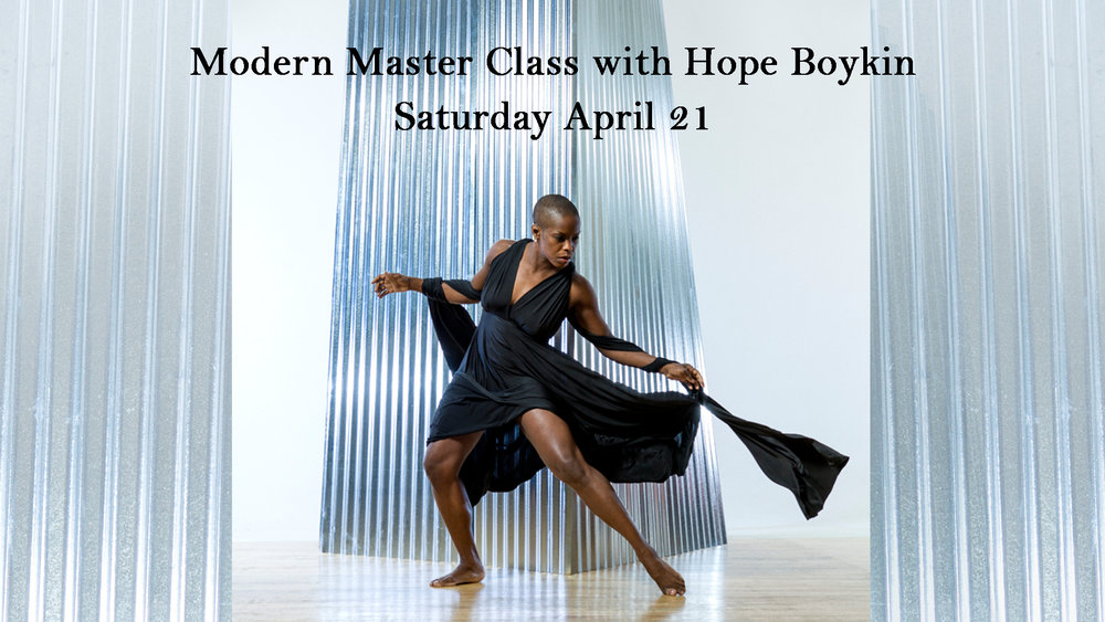 Hope Boykin Master Class at Anaheim Ballet