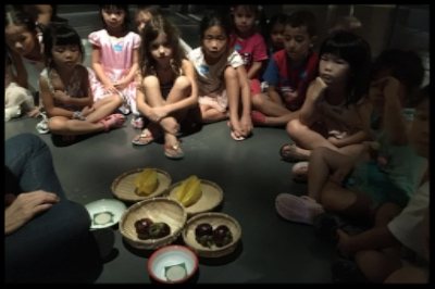 They learnt more about different fruits like the starfruits and mangosteens.