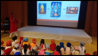 She also shared about the history of Sikhism and how it was founded by Guru Nanak.