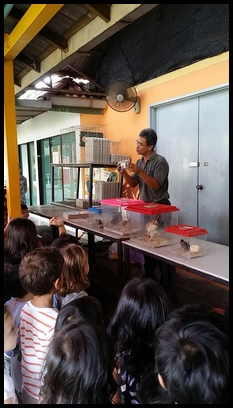 They learnt that quail eggs come from quails and that the quails on his farm lay 30,000 eggs every day.