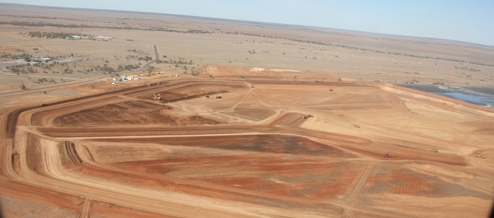 52ha, 3000 megalitre tailings dam, Cannington $30m