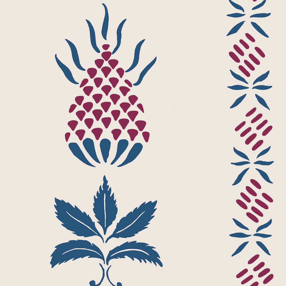 WH 109 Pineapple Stencil