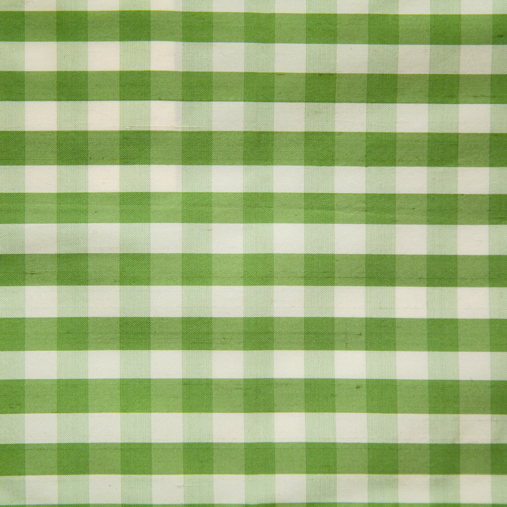 WF-450-01 Green/ Oyster Silk Check