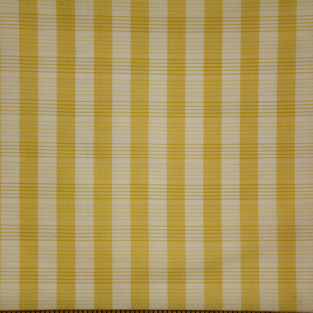 WF-801-05 Gold/ White Silk Check