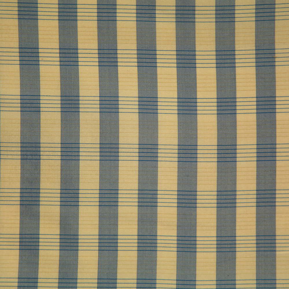 WF-801-05 Blue/ Beige Silk Check