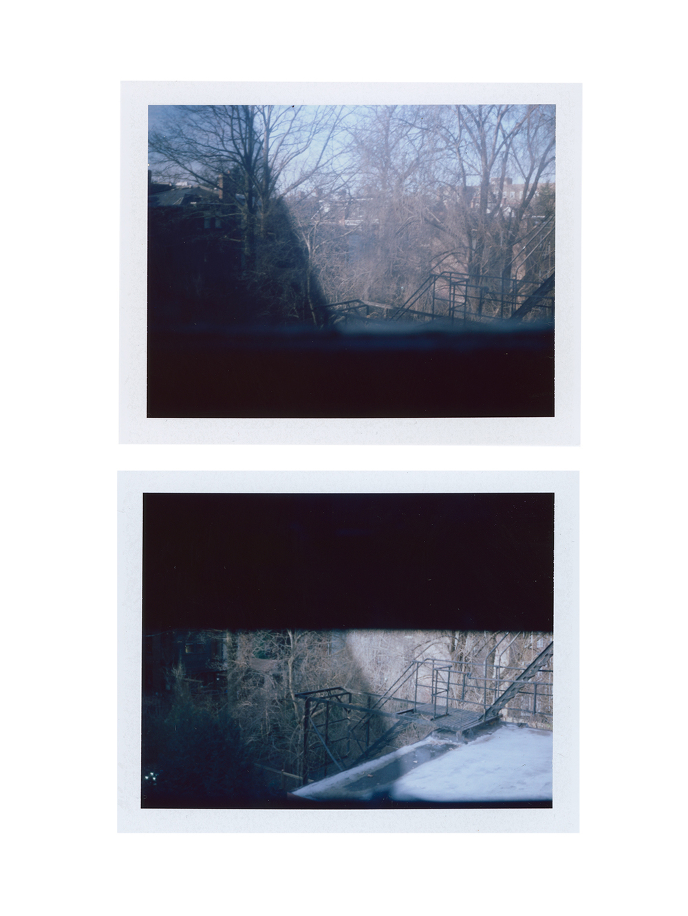 Just Another Event Horizon (part two) , digital image from FP-100c, 2015.