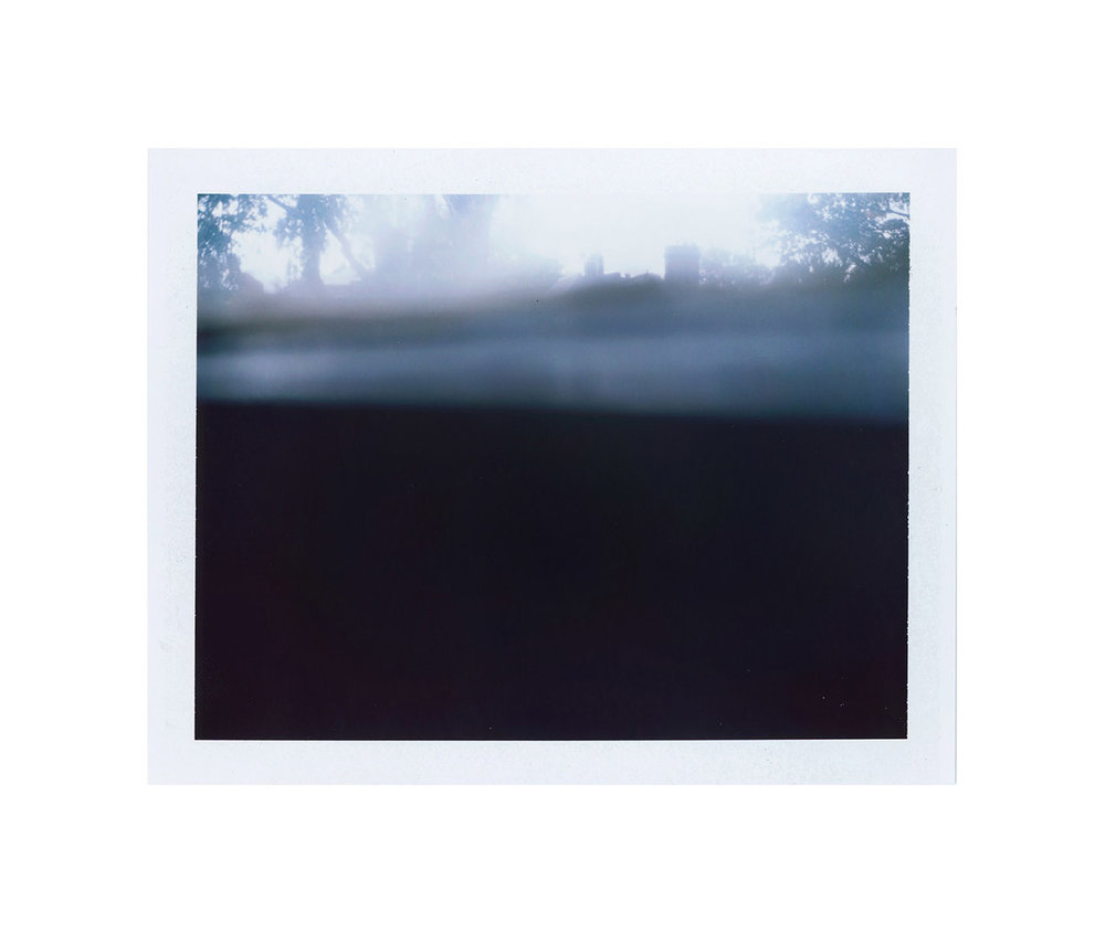 Just Another Event Horizon (4520 Spruce St.) , digital image from FP-100c, 2015.