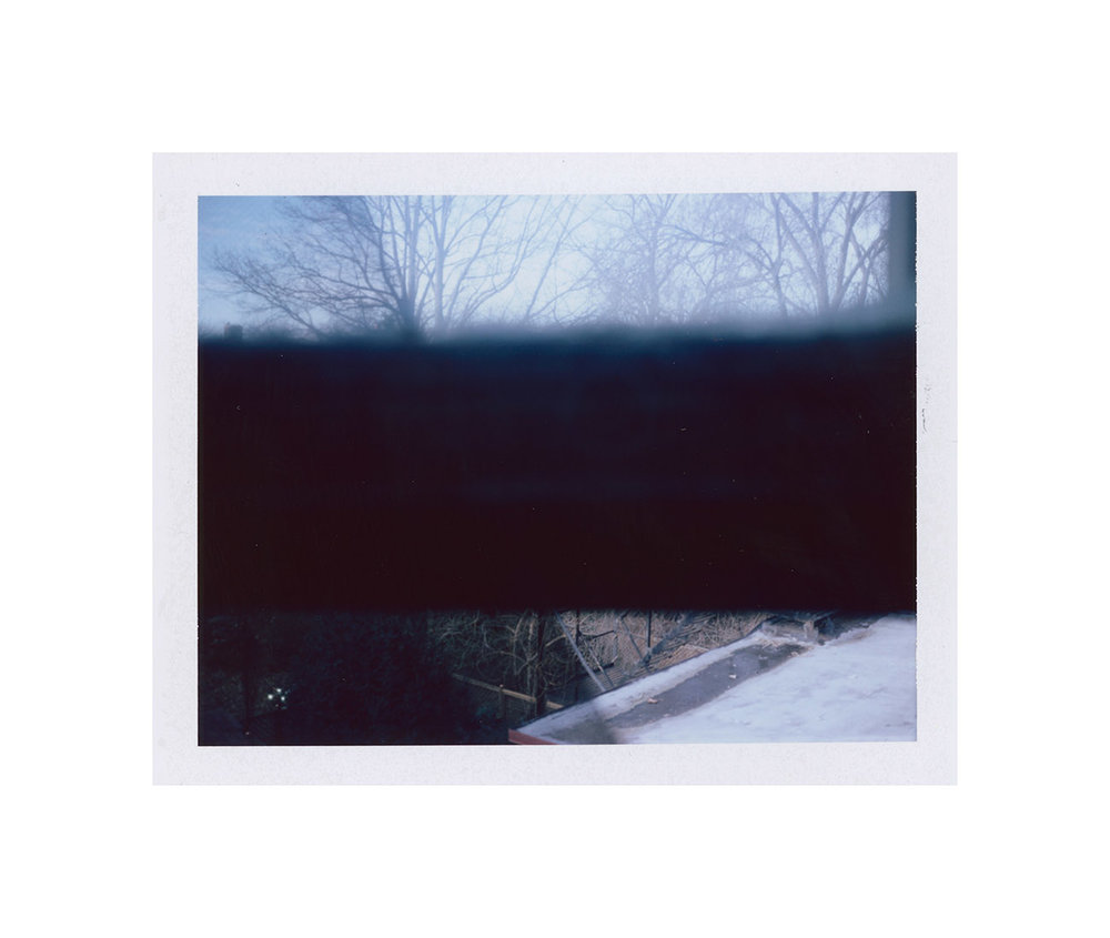 Just Another Event Horizon (part one) , digital image from FP-100c, 2015.